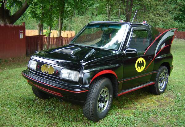 Geo Tracker Batmobile